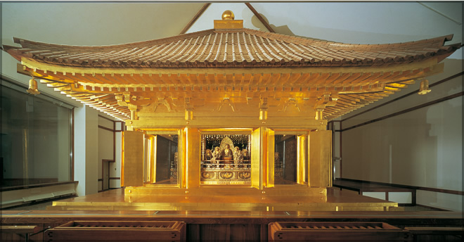 golden hall hiraizumi