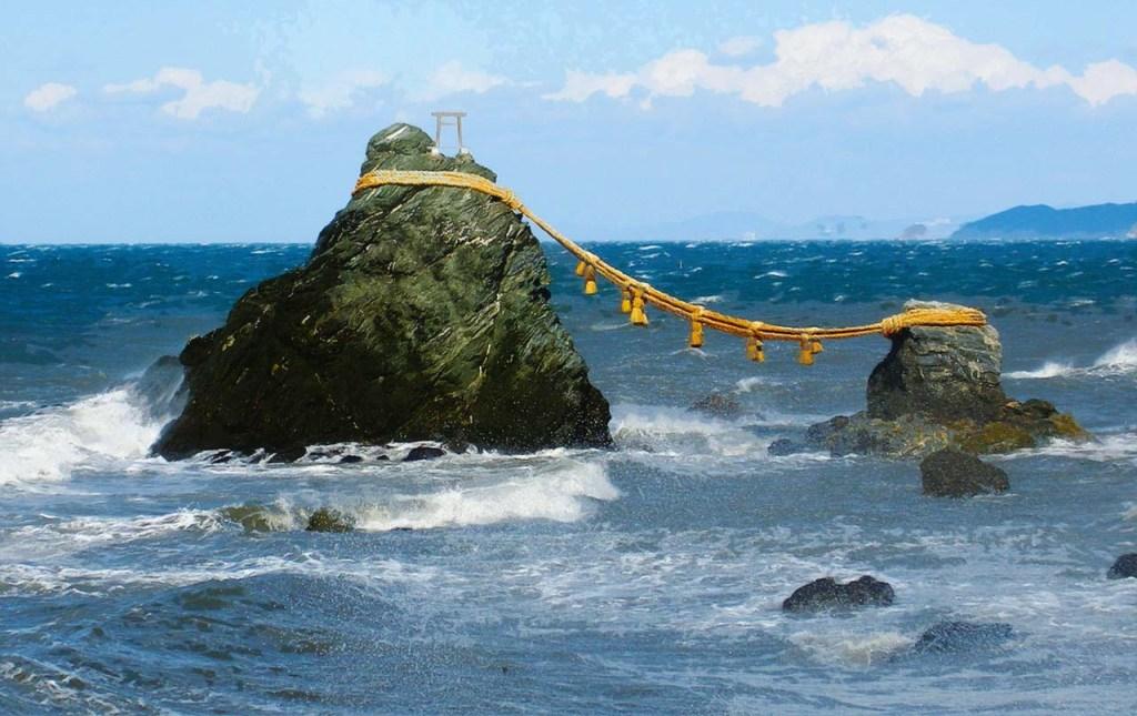 Meoto Iwa Married Couple Rocks