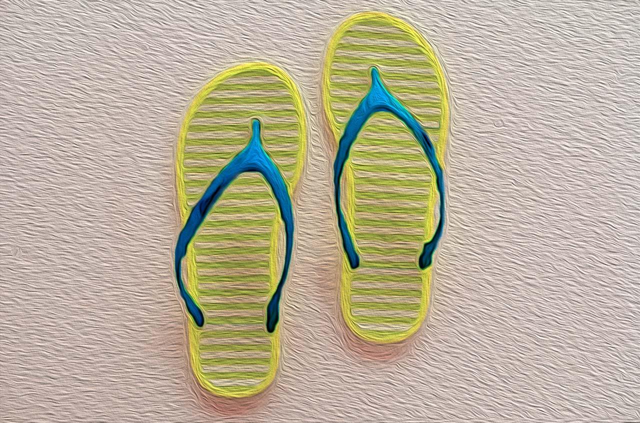 sandals-oil
